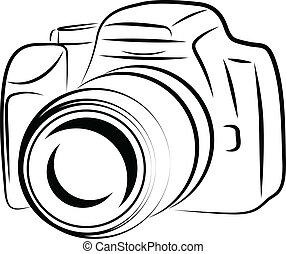 Contour Camera Drawing