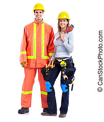 Contractors people.