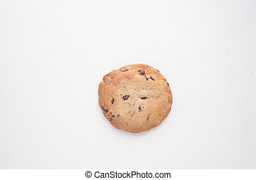 Cookie in white background