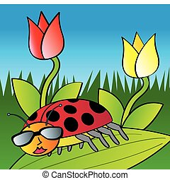 Cool Lady Bug