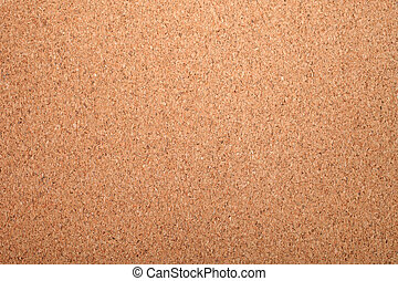 Cork board as textured background or backdrop.