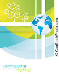 Corporate or Business Company background brochure