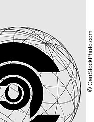 Creative design of corporation symbol