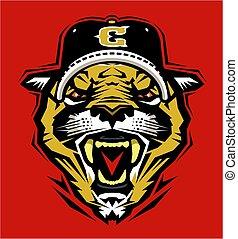 cougar baseball mascot
