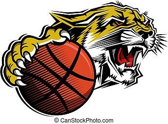 cougar basketball mascot