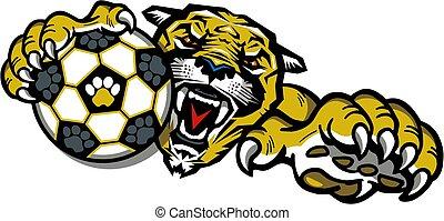 cougar soccer team mascot