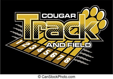cougar track and field