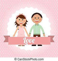 couple love design
