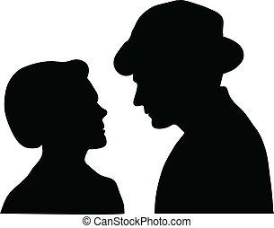 couple silent