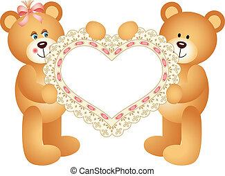 Couple Teddy Bear