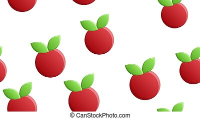 cranberry on a white background, red berry, vector illustration, pattern. sugar cranberry, marsh berry. interior decoration. decor of the kitchen, restaurant. wallpaper for catering