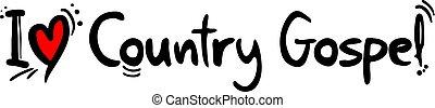 Country Gospel music love