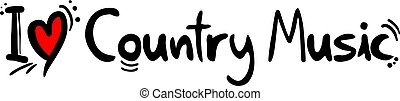 Country Music style love