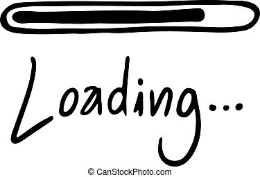 Creative design of Loading message
