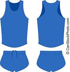 runner sport shirt