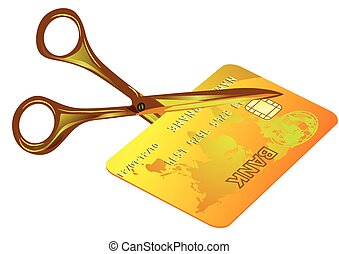 credit card cut out