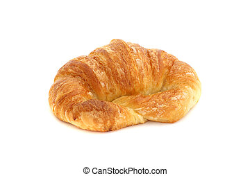 croissant isolated in white background