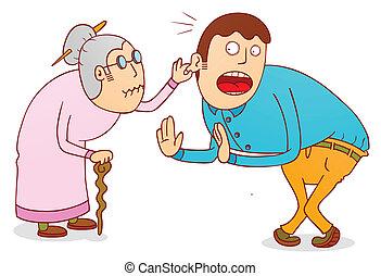 cruel grandma