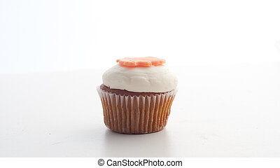 Cupcake in white background