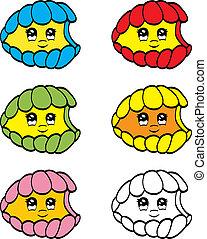 Cute clam