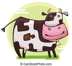 Cute cow.