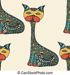 Cute doodle cats.