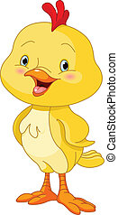 Illustration of cute little chick