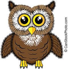 Cute looking owl