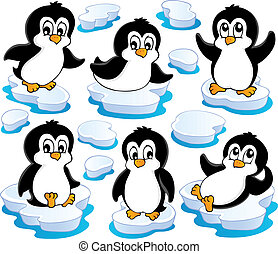 Cute penguins collection 2