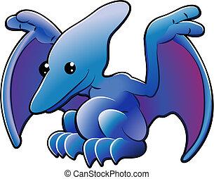 Cute pterodactyl