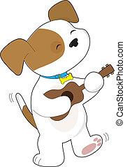 Cute Puppy Ukulele
