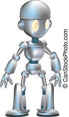 Cute robot character