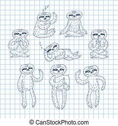 cute sloth-03