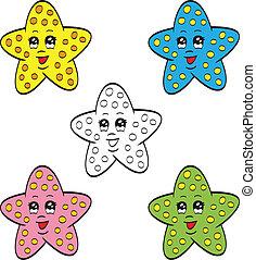 Cute starfish