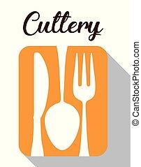cutlery symbol design