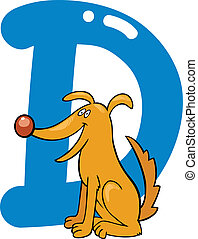 D for dog