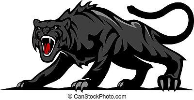 Danger black panther