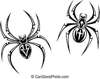 Danger spiders