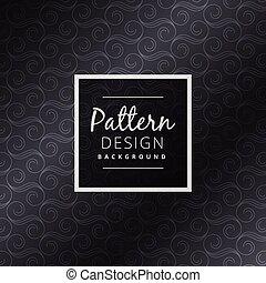 dark floral pattern design