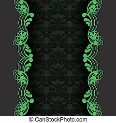 dark with green