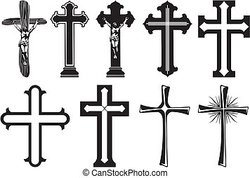 decoration of funerary monuments and crosses