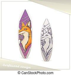 Design Surfboard Fox