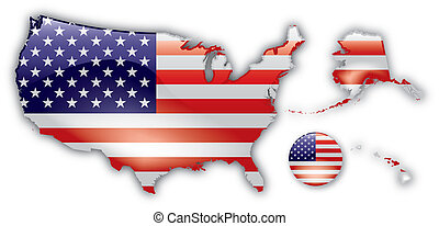 Detailed Map of USA