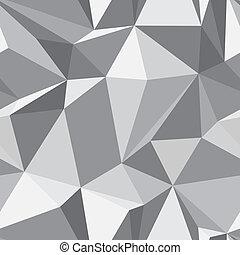 Diamond shape seamless pattern - abstract polygon geometric mosaic texture