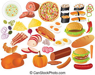 different food icon
