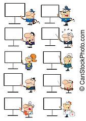 Different People Cartoon