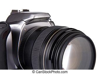 digital camera isolated on white