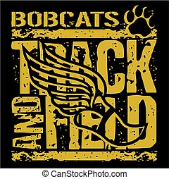 bobcats track and field