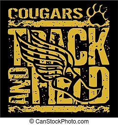 cougars track and field