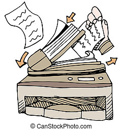 An image of a document scanner.